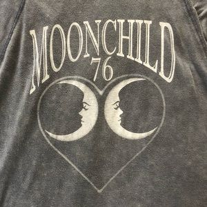 "Gypsy Heart Tops - Gypsy Heart | Long sleeve ""Moonchild 76"" shirt"